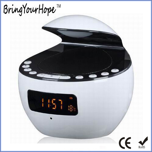 USB Play LED Show Thermometer LED Light Portable Bluetooth Speaker (XH-PS-651)