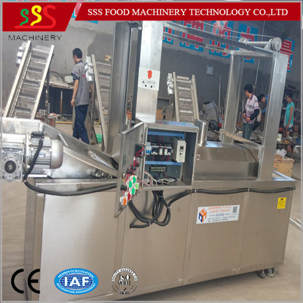 Multi-Functional Automatic Continuous Fryer Chicken Frying Machine Pressure Fryer