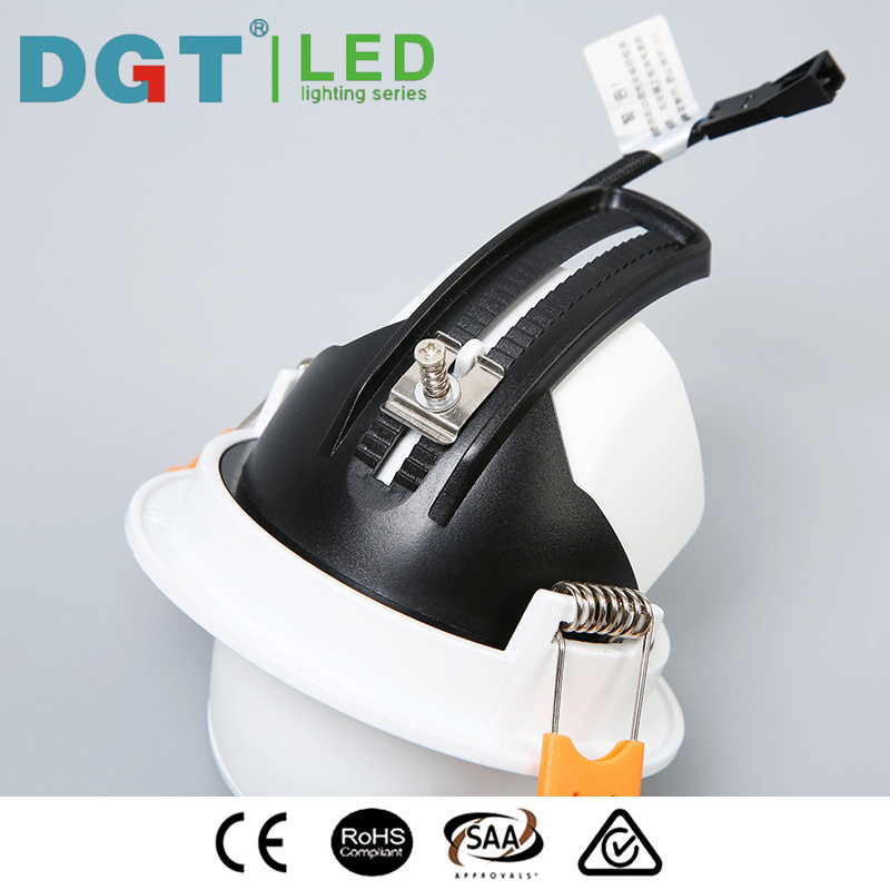 New Design 12W LED COB Adjustable Spotlight with Ce, SAA, RoHS