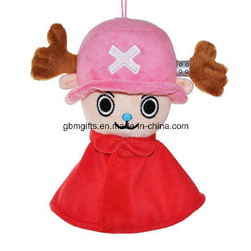 Japanese Warrior Dolls Plush Cloth Warrior for Kids
