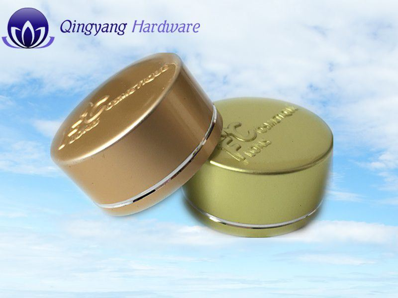 Metal Aluminum Cap for Cream Jar Glass Bottle