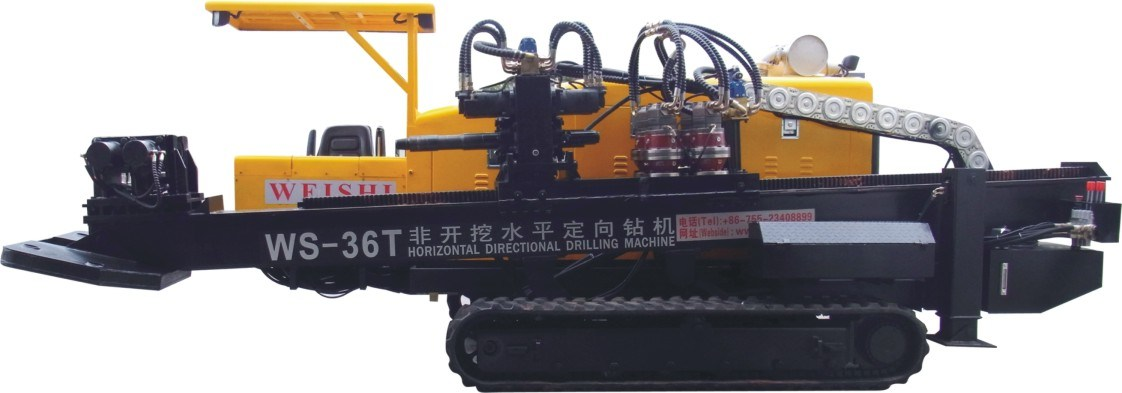 Most Durable Ws-36t Horizontal Directional Drilling Machine HDD Machine