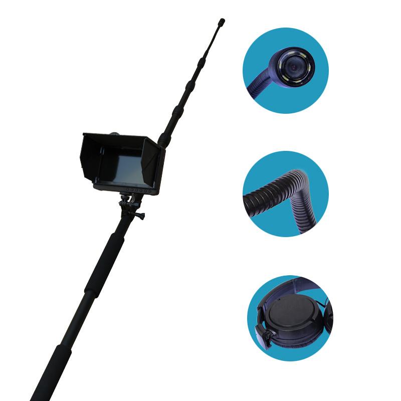HD Video Long Telescopic Pole Earthquake Rescue Equipment Audio Life Detector
