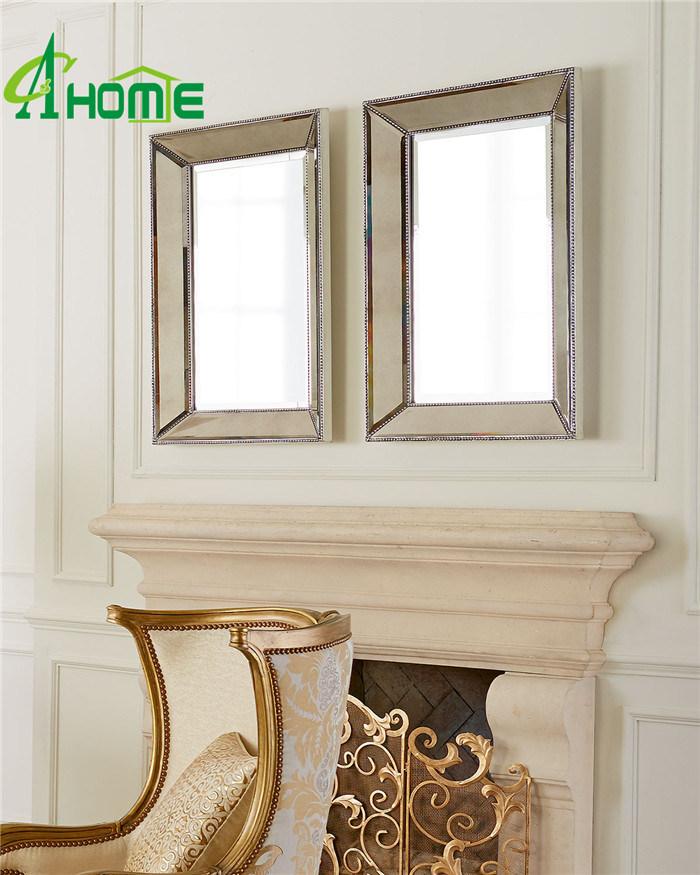 Splish Rectangle Beveled Wall Mirror
