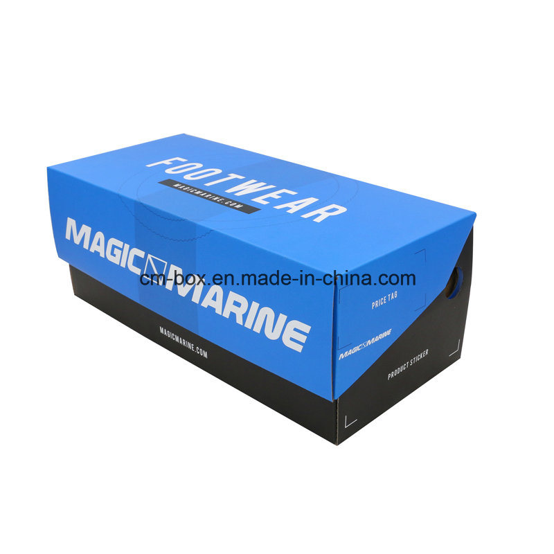 2016 The Best Popular Customized Paper Packaging Lid Box for Shoes