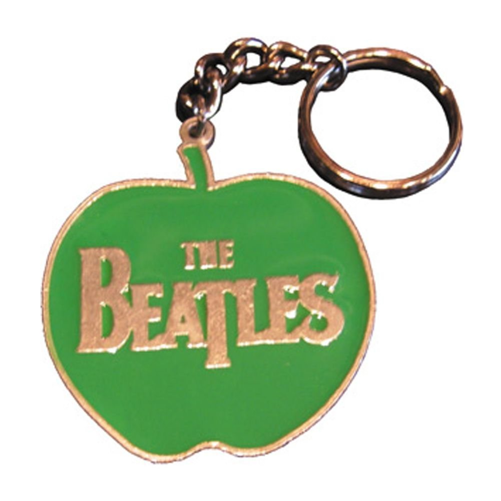 Custom Apple Metal Keychains for Promotion Gifts