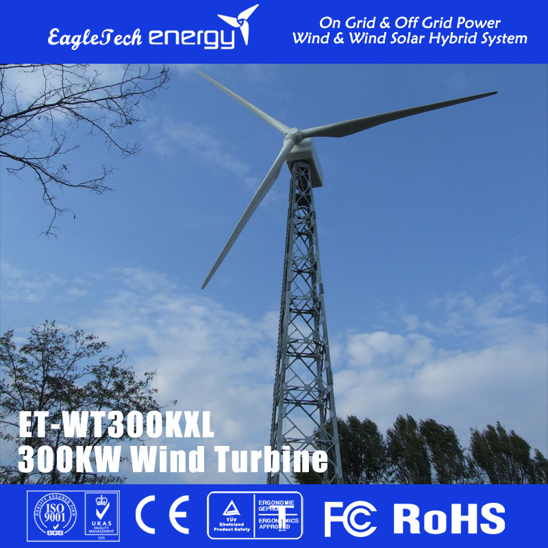 300kw Big Power Wind Turbine Wind Generator Wind Power System