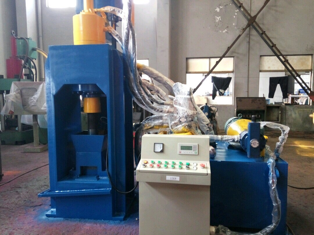 Briquetters Automatic Aluminum Iron Metal Scrap Hydraulic Briquette Recycling Machine- (SBJ-200B)