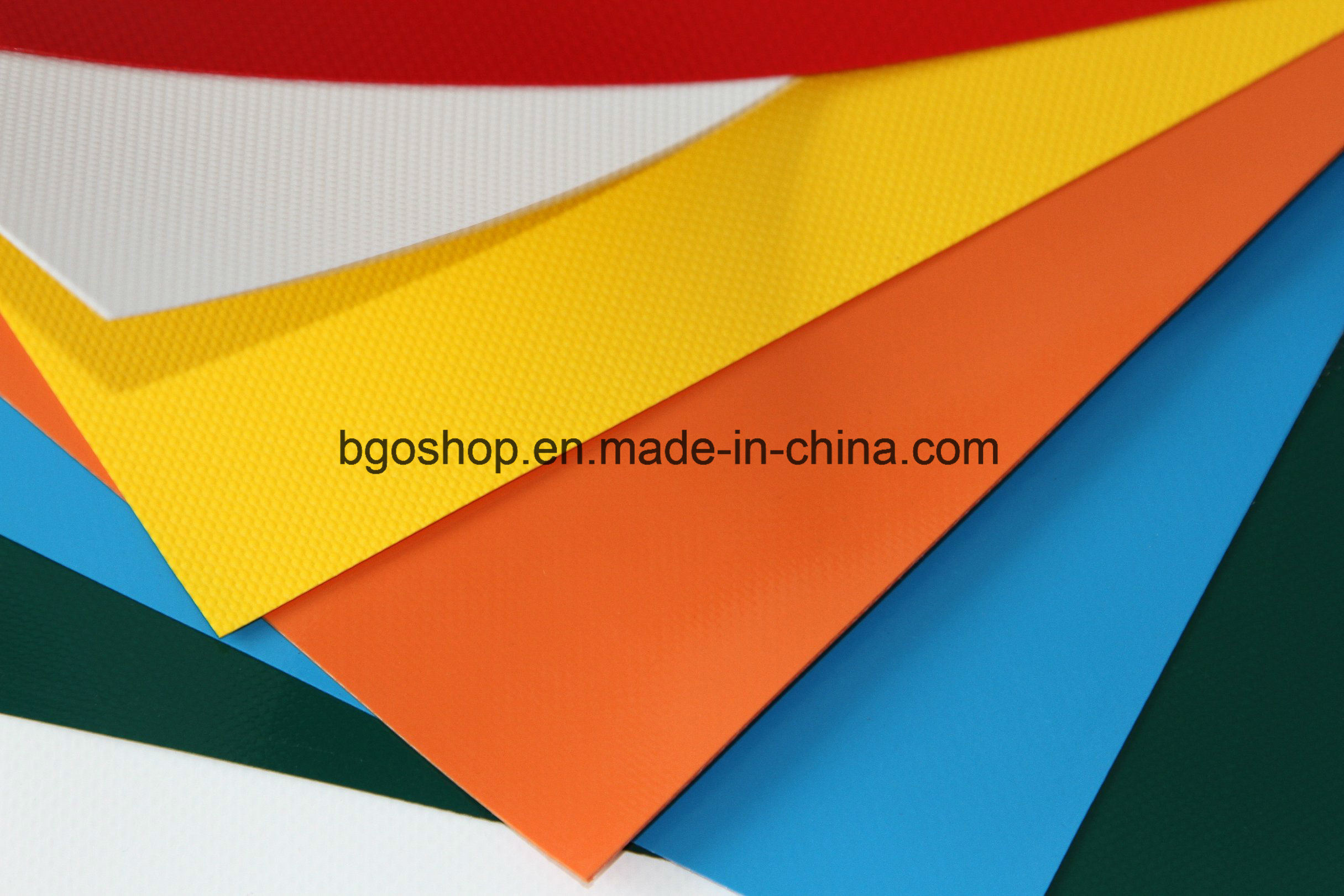 OEM High Quality PVC Coated Tarpaulin