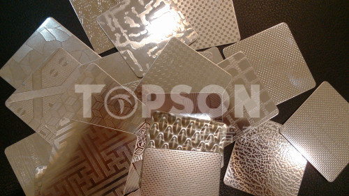 Stainless Steel Sheet Color Plate for Elevator Decoration