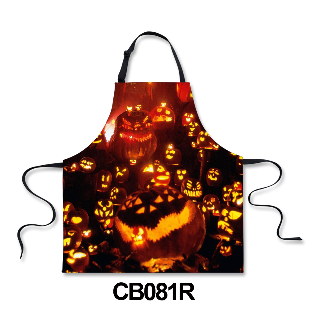 Halloween Style Customized Printing Apron