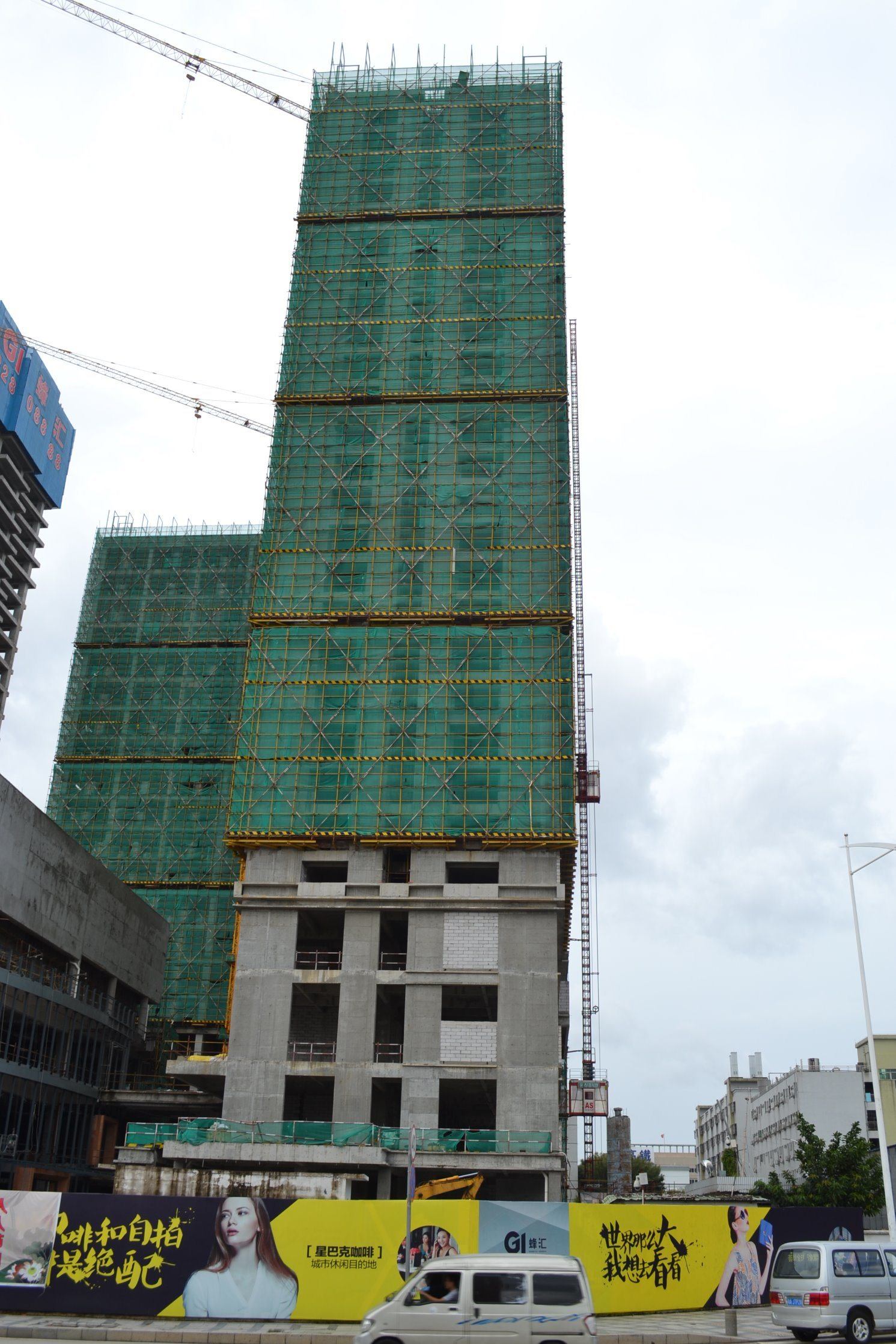 6t Qtz80 (TC5014) Building Tower Crane