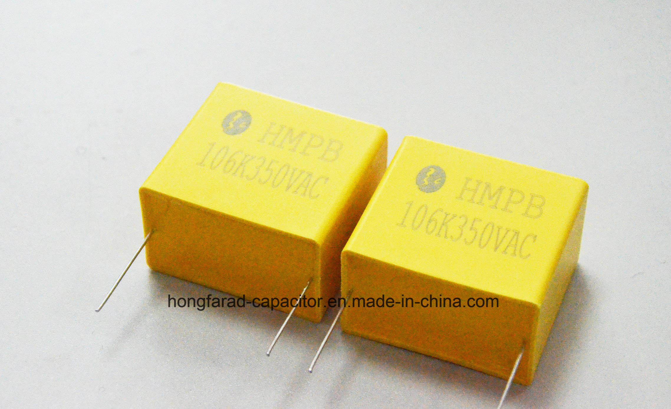 Metallized Polypropylene Film Capacitor with Box Cbb21b Mpb