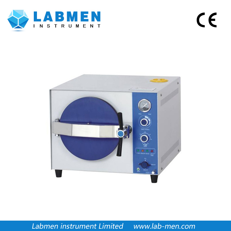 Portable Pressure Steam Sterilizer (Electric or LPG heated)
