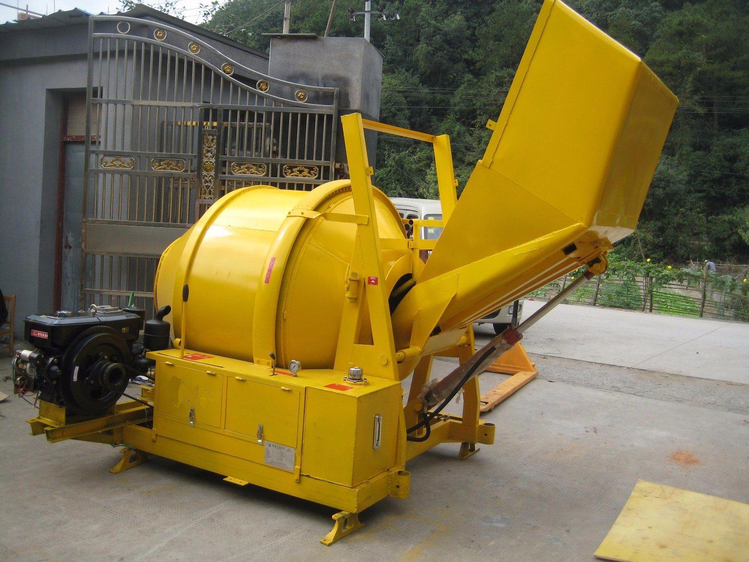 Diesel Concrete Mixer JZR350H
