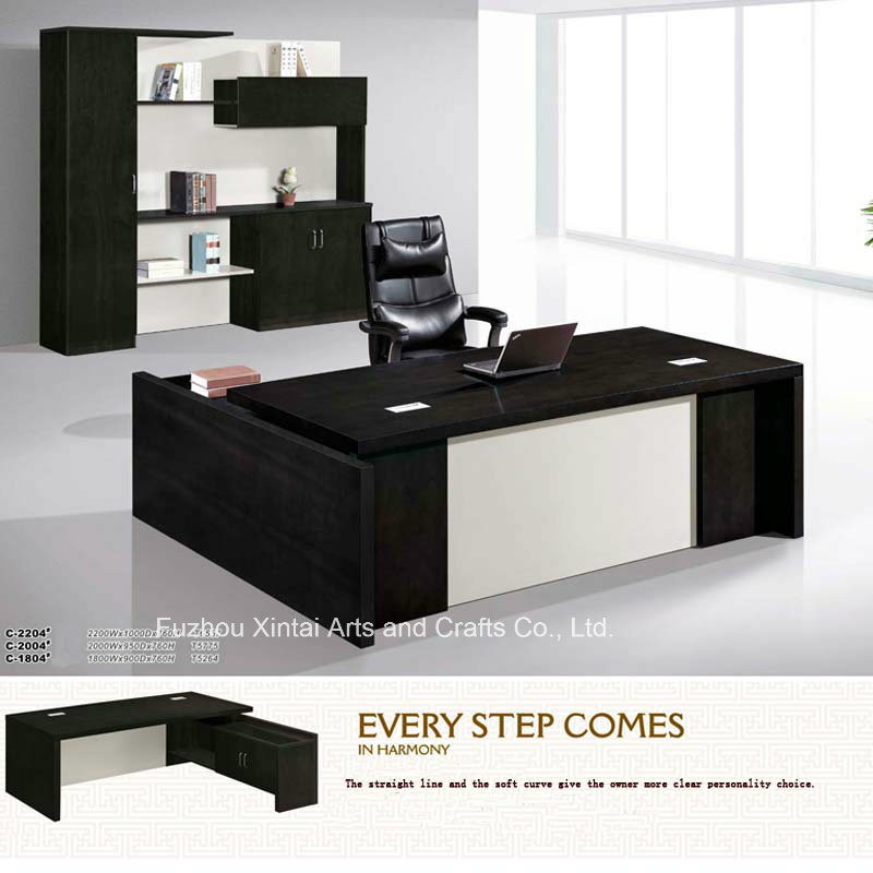 Chinese Black High Quality Office Table