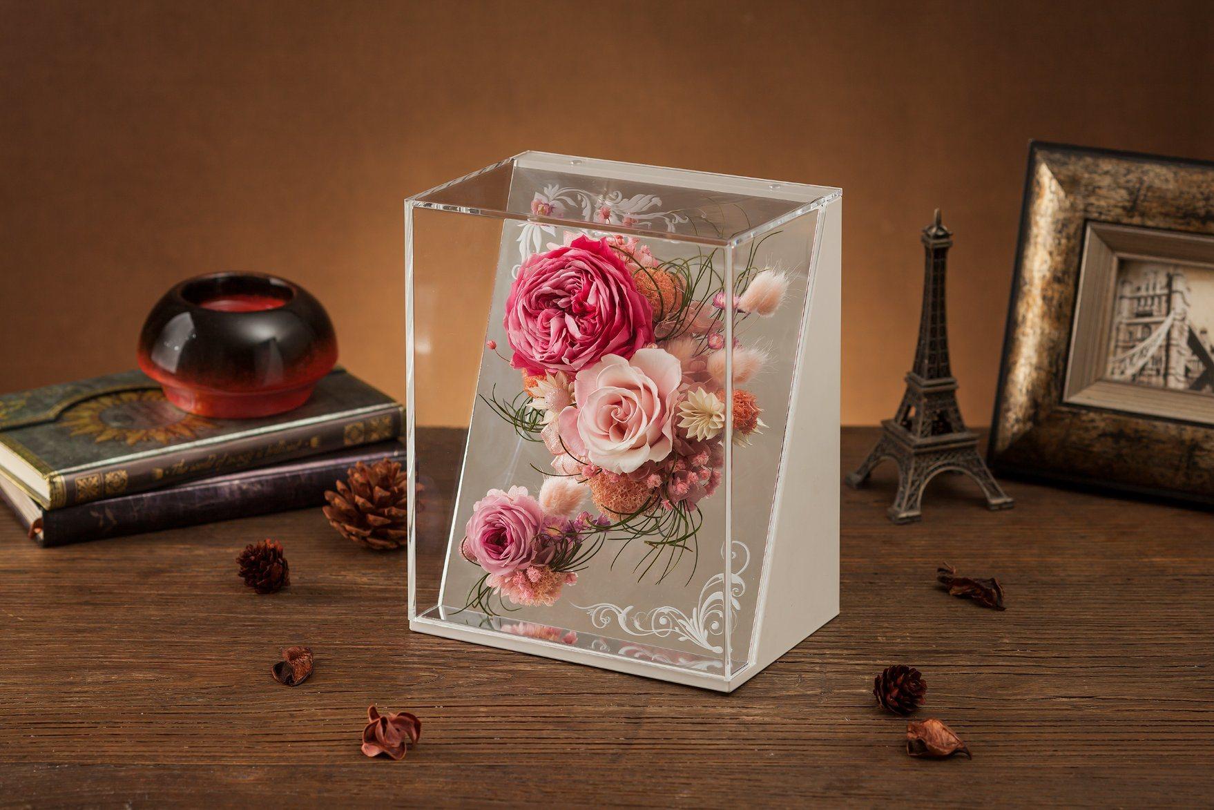 Ivenran Gift Box Preserved Fresh Flower for Creative Gift