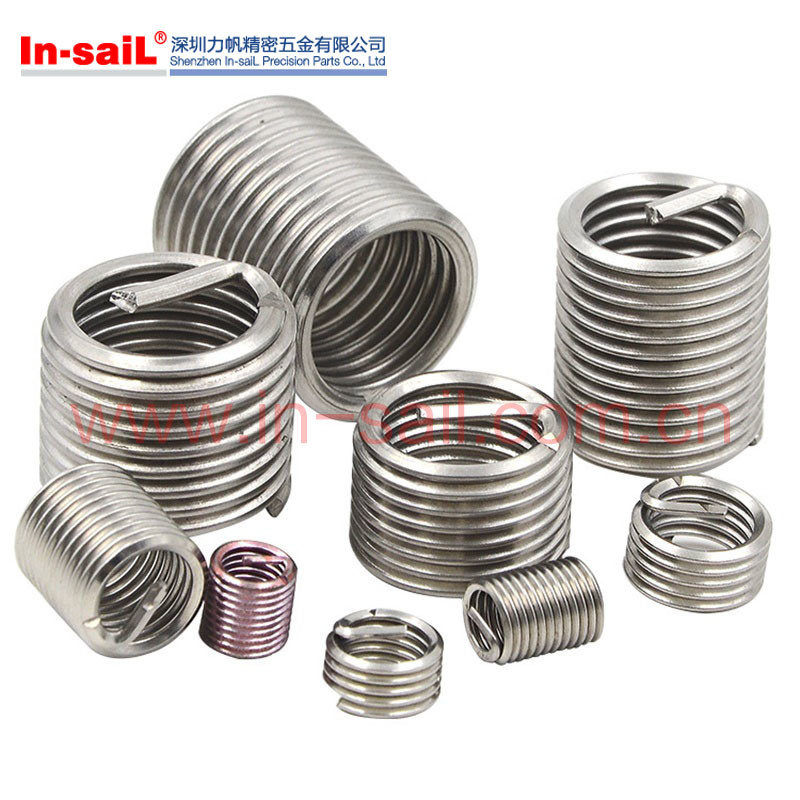 Standarded Tolerances Self-Tapping Wire Thread Insert