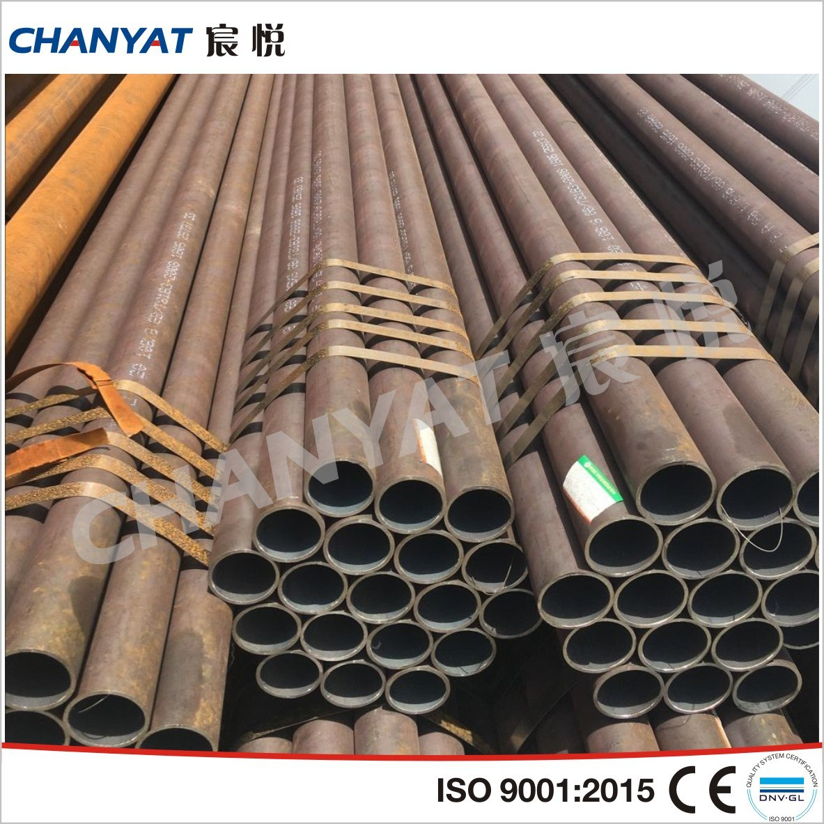 Seamless Carbon and Low Temperature Steel Pipe and Tube