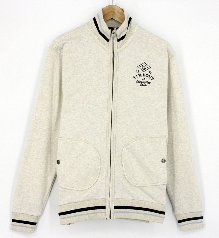 2017 Men Fashion Zip up Through Sweatshirt Fleece Jacket Top Clothing Sportswear