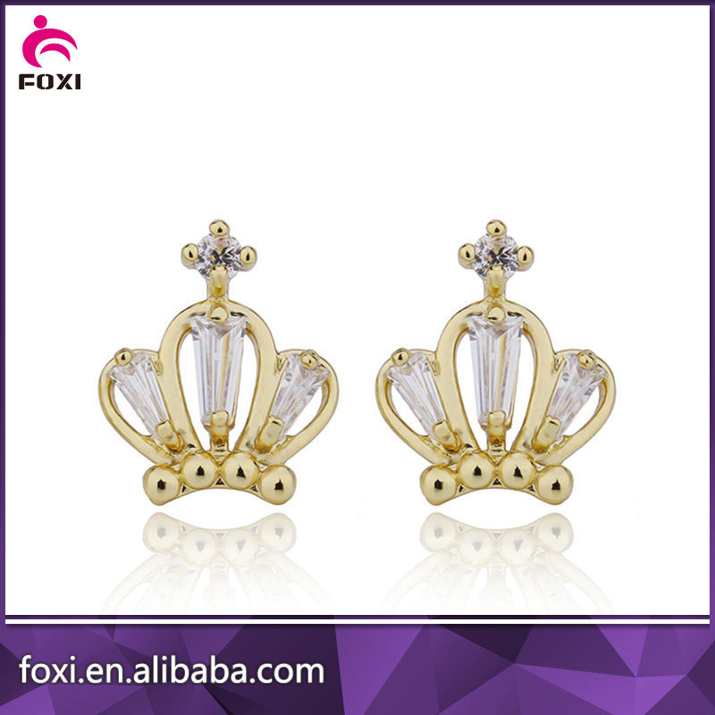 China Fashion Brass Earring Jewelry