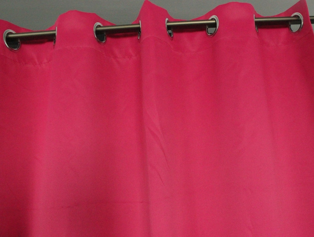 Polyester Blackout Curtain Fabric with Various Colors