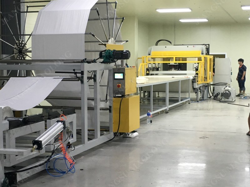 100 Layers Facial Mask Fabric Cutting Machine