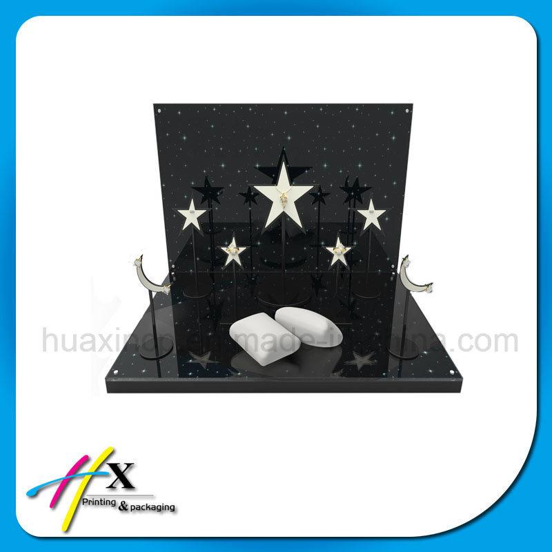 Custom Made Luxury Wooden Jewelry Display Stand