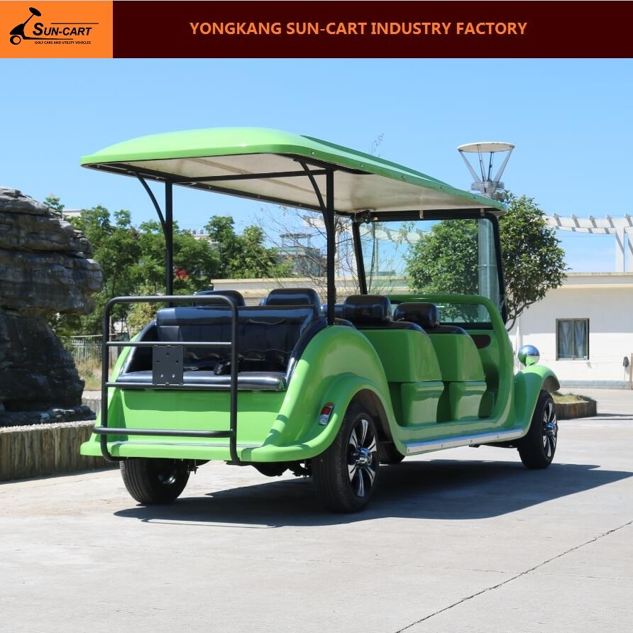 8 Passenger Electric Vintage Vehicle (Utility car)