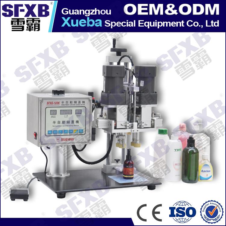 Sfxg-100 Semi Automatic Manual Bottle Capping Machine