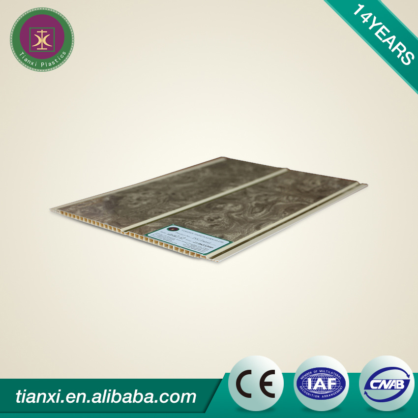 Sound-Absorbing and Fireproof 60X60 PVC Panel for Walls and Ceiling
