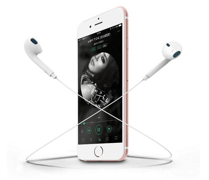 Earphone 6 6splus 3.55mm in-Ear Mobile Phone Headphones Magic Sound Mori for iPhone Earplugs Universalwith Microphone 7 7plus