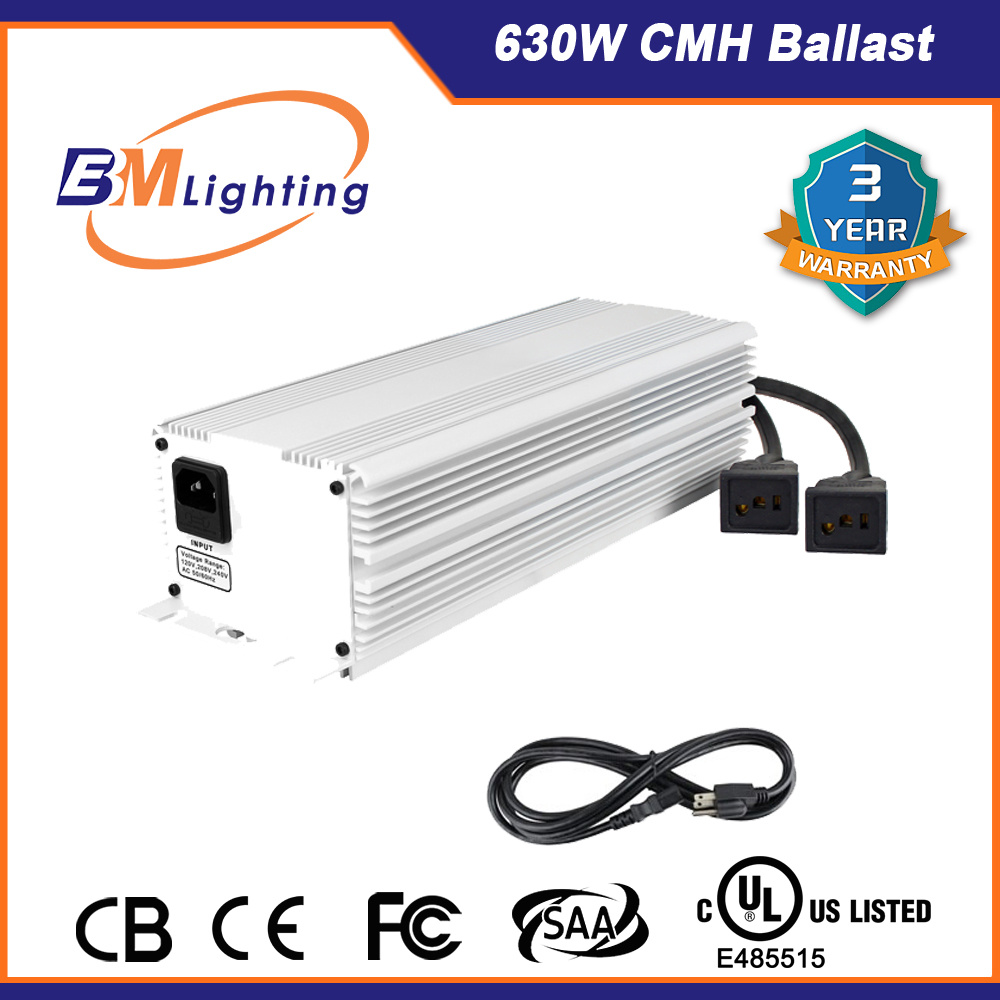 630watt CMH Electronic Ballast Grow Light Ballast for Hydroponic Growing System