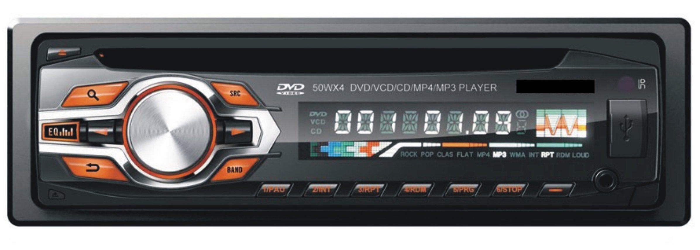 FM/USB/SD/Aux in/DVD/CD/VCD/ID3/WMA/MP4/MP3 Detachable Auto DVD Player Car Amplifier Radio