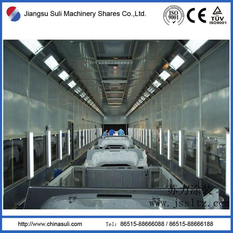 China High Quality Car Paint Coating Line
