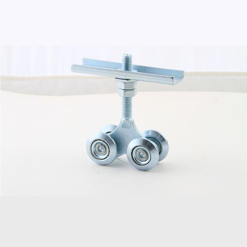 Sliding Gate Metal Hanging Wheels for Upper Using Four Roller