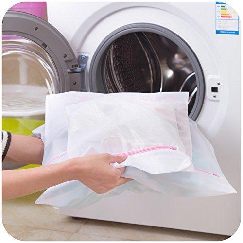 Large Size Polyester Durable Drawstring Mesh Laundry Bag