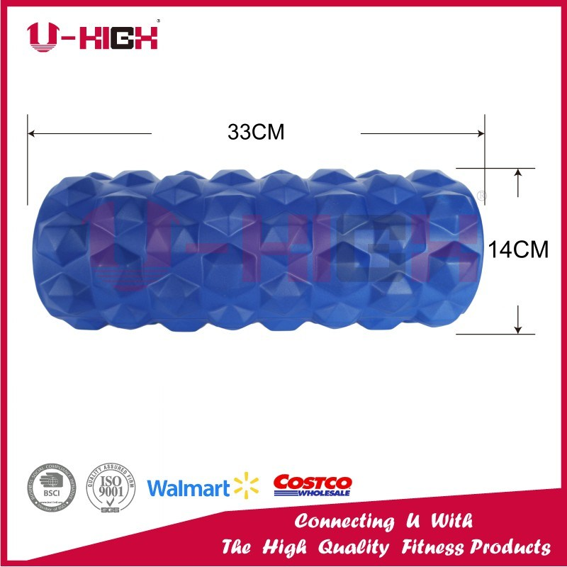 High Density EVA Injection Hollow Foam Roller Massage Roller Polygon Style