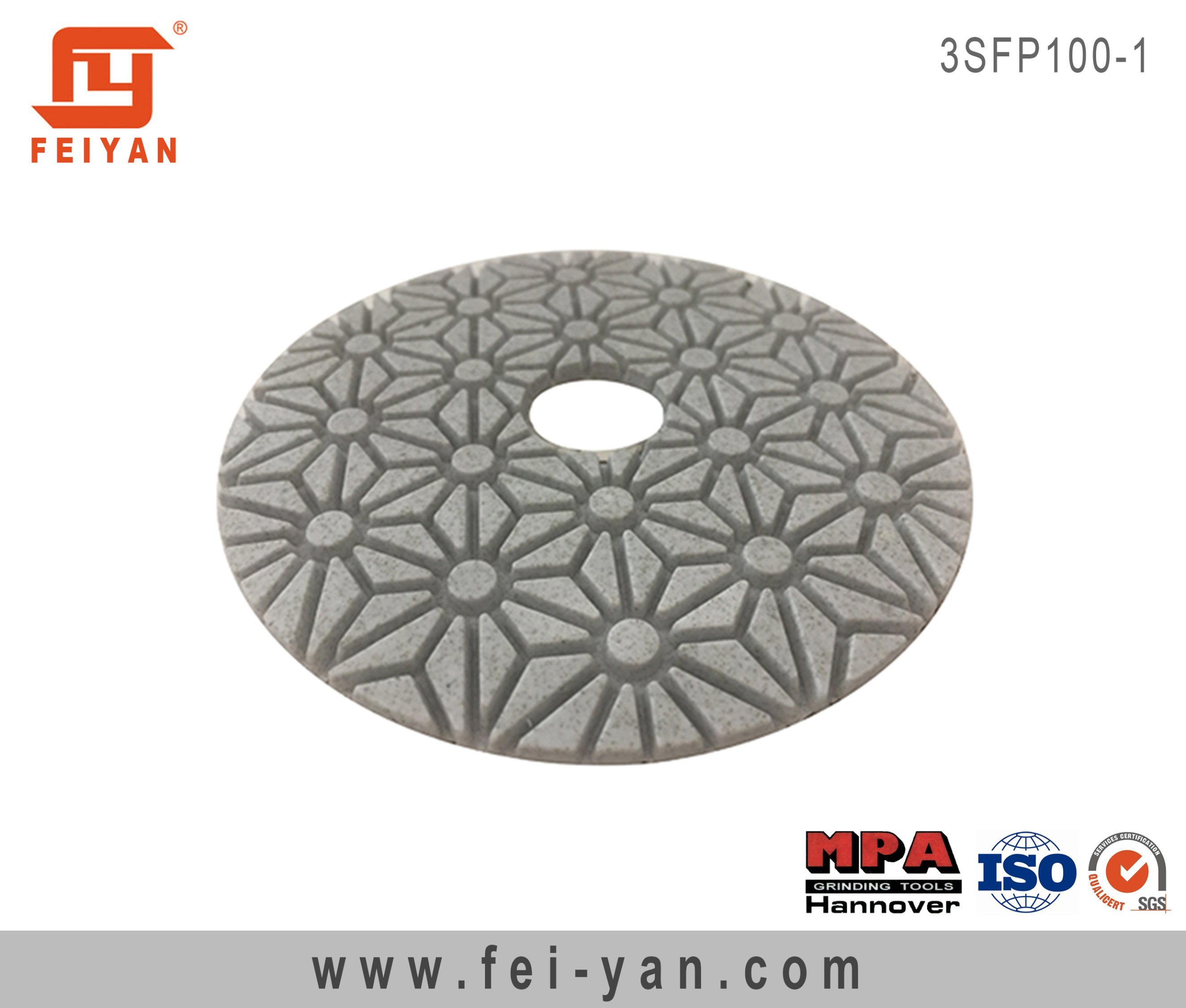 3-Step Flexible Polishing Pad