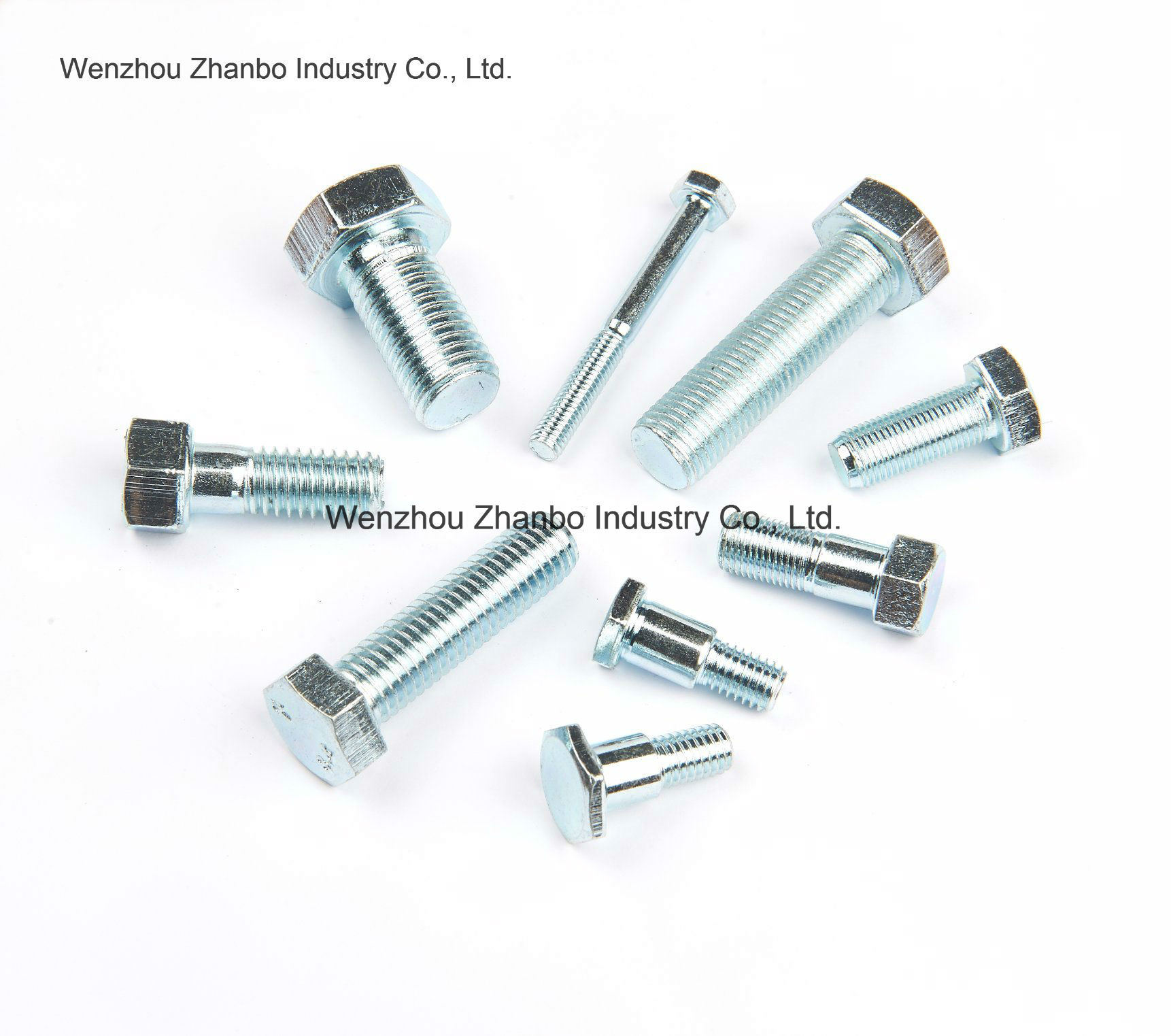 High Strength Steel, Hexagon Bolts 12.9 10.9 8.8, M6-M20