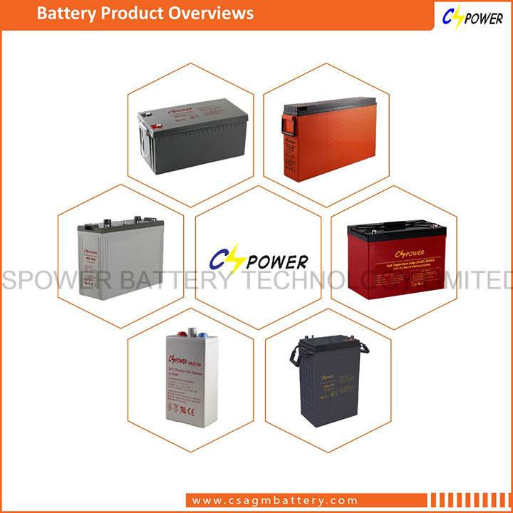 Cspower 12V 100ah Front Access VRLA Battery FT12-100