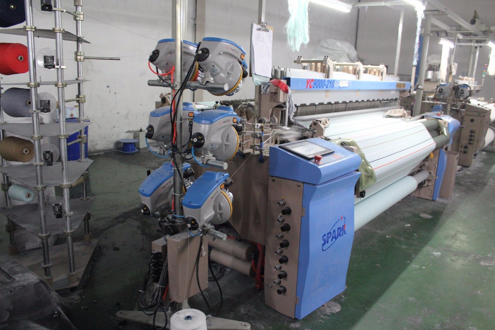 Spark Most Energy Saving Yc910 Air Jet Loom