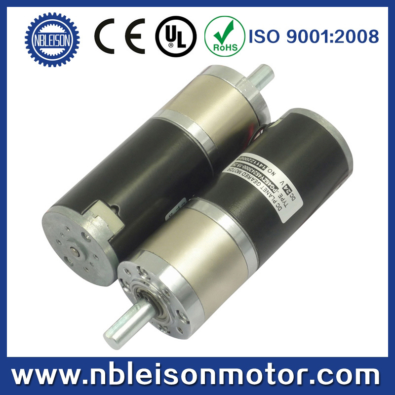 45mm low rpm high toruqe dc planetary gearbox motor for Low rpm stepper motor