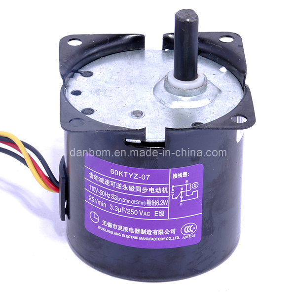 Special Plug Design Reversible Synchronous Gear Motor