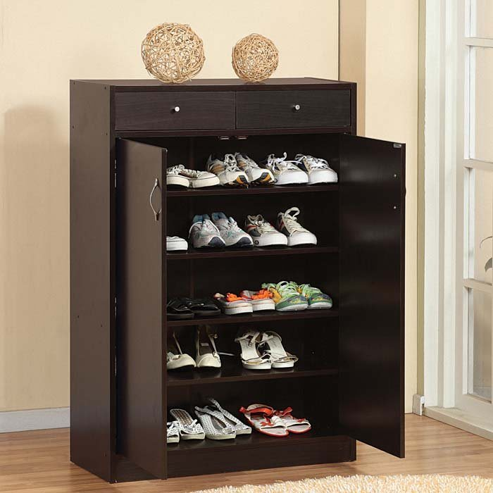 Cheap Wood Shoe Cabinet Style Shoes Rack