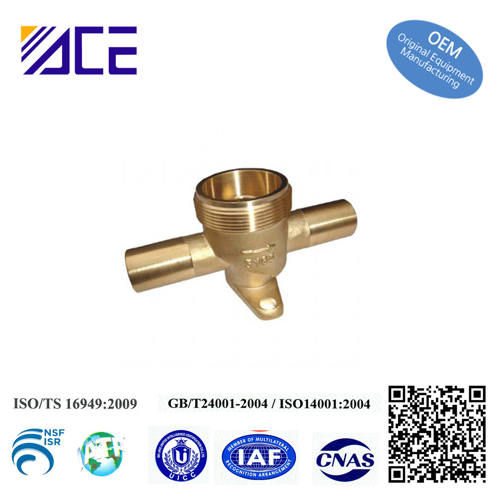Forged Brass Water Meter Body Fittings
