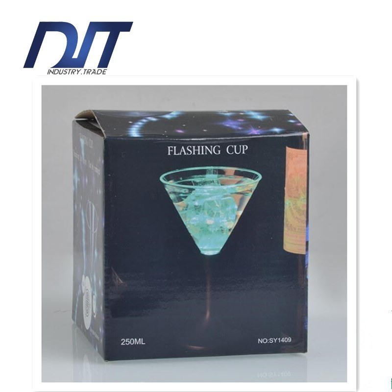 Fabulous LED Light-up Champagne Cup Rocks Party Plastic Cup