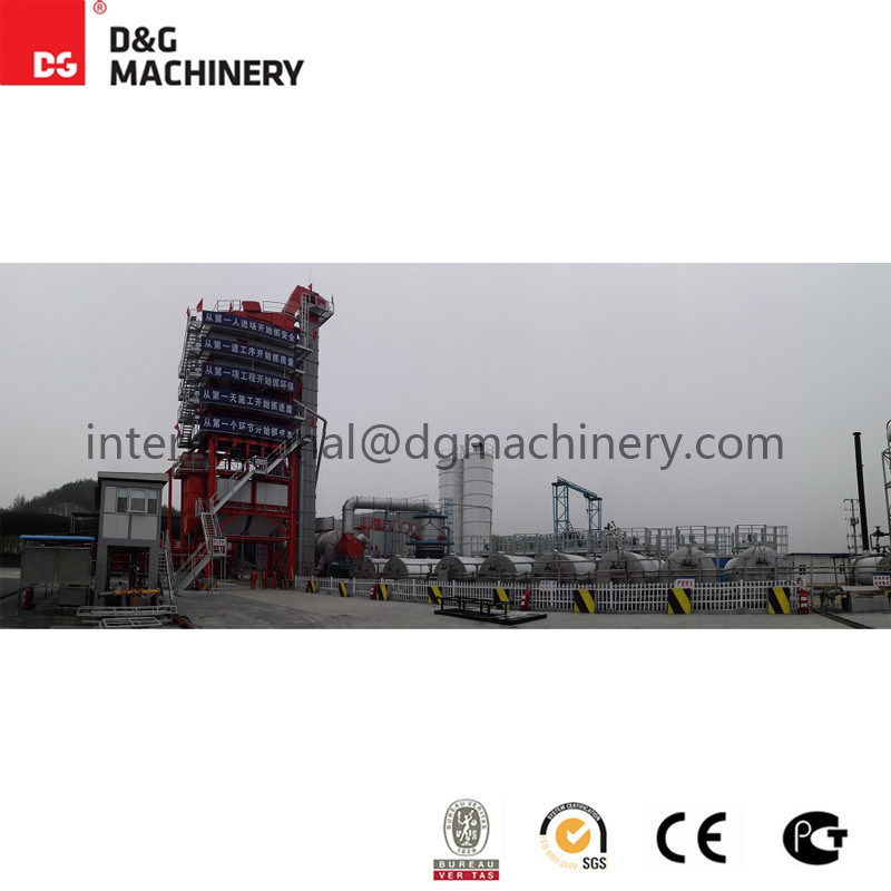 400t/H Coal Powder Hot Asphalt Mixing Plant / Coal Powder Plant for Sale