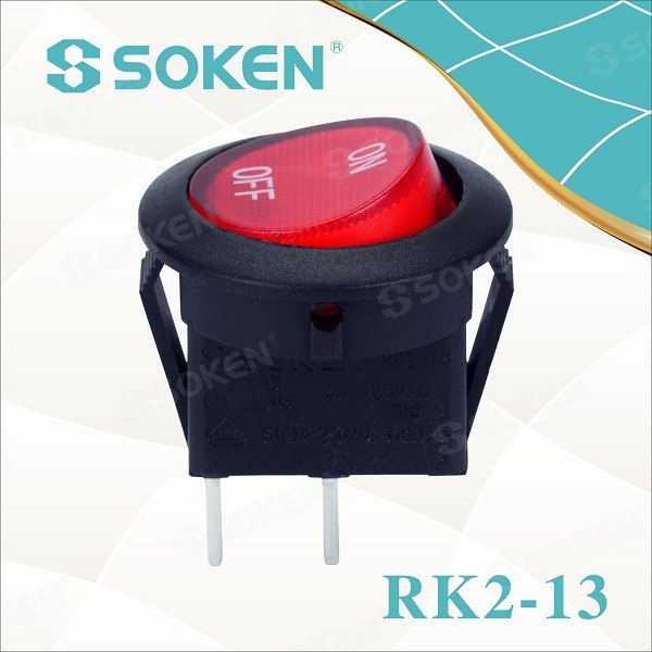 12V 24V Taiheng Micro Rocker Switches T120