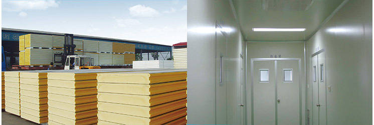 Paper Honeycomb Purification Panels for Clean Room